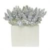 """Benzara 37579 9"""" decorative Coral, Silver"""