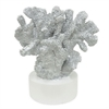 "Benzara 37583 13.5"" decorative Coral, Silver"