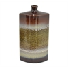 "Benzara 14"" Tan Mix Ceramic Vase, Tan Mix"