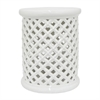 Benzara Fashionable Ceramic Garden Stool
