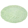Benzara 42086 Green Glass Votive Plate, Green