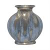 "Benzara 12"" Dark Grey Ceramic Vase, Dark Grey"
