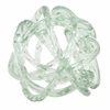 Benzara Uniquely Styled Glass Knot Decoration