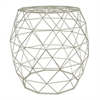 "Benzara 18.75"" Accent Table, Champagne"