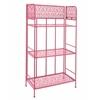 Benzara Baker Rack - Pink