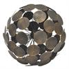 "Benzara 63938 11.75"" Metal Orb"