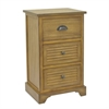 Benzara 66157 Wood Cabinet, Honey