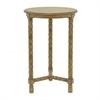 "Benzara 28"" Wood Accent Table, Honey"
