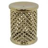 Benzara 69264 Outstanding Ceramic Garden Stool