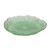 "Benzara 11.5"" Green Glass Bowl, Green"