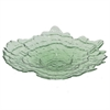 "Benzara 15"" Green Glass Bowl, Green"