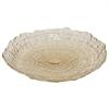 "Benzara 11.5"" Beige Glass Bowl, Beige"