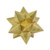 """Benzara 7.25"""" Golden Resin Table Top decor, Gold"""