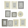 Benzara Extraordinary Photo Frame Set Of 10