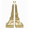 Benzara Resin Eiffel Tower Bookend Set Of 2