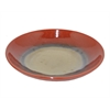 "Benzara 79062 12"" Red Ceramic Plate, Red"
