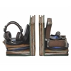 Benzara Spectacular Resin Gramophone Bookend