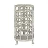 "Benzara 12.5"" Metal Aluminium Lantern, Silver"