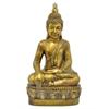 "Benzara 24"" Fibber Clay Buddha, Gold"