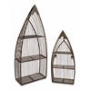 Creative Set of 2 Nesting Boat Shelves