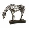 Magnificent  Anatole Woven Horse Statuary