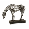 Magnificent CKI Anatole Woven Horse Statuary