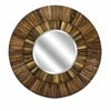 Smartly Designed Klein Wood Mirror, Natural