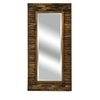 Elegantly Designed Dawson Wood Mirror, Natural