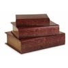 Grand, Brown, Set Of 3 Nesting Wooden Book Boxes