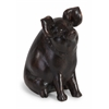 Cute Curious Pig Figurine