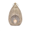 Teardrop Large Lantern, Antique Gold