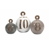 Trendy Set of 3 Hotham Decorative Fishing Weights