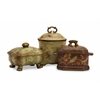 Classic and Timeless Set of 3 Crandle Boxes