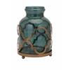Charismatic Marla Quadre Foil Oversized Vase