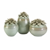 Astounding Tilly Floral Lidded Vases - Set of 3