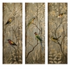 Set of 3 Calima Bird Wall Decor