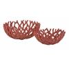 Designer Carpacia Coral Bowl - Set of 2