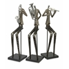 Musical Sinatra Jazz Band Figures - Set of 3
