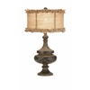 Attractive Florissa Table Lamp, Vintage Brown