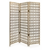 Chic Devina Mirror Wall Screen, Antique gold