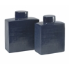 Big and Bold, Blue, Set Of 2 Wilfred Ceramic Canisters
