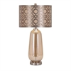 Swanson Table Lamp, Shades of brown