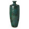 Alluring Tall Napa Vase, Glazed Turquoise