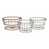 Durable Kristley Metal Basket - Set of 3