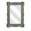 Sophia Wall Mirror, Green and Gold