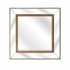 Essentials Celebrations Modern Wall Mirror, Brown
