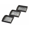 Creative Ella Elaine Metal Trays, Black and White, Set Of 3