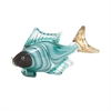 Croix Glass Fish Statuary, Multicolor