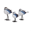 Chirp Bird Statuaries - Set of 3