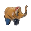 Eli the Elephant - Reclaimed Metal, Multicolor
